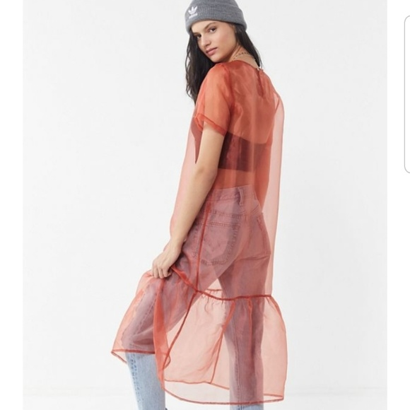 8adb07b0065 Urban Outfitters Dresses | Organza Dress Small Nwt | Poshmark